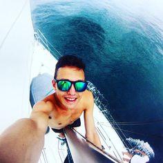 Everyday it's the last day of the rest of my life. #sun #day #sailboat #sea #caribean #island #thug #thuglife #like4like #likeforlike #nature #blue #boat #boating #gopro #insane #instapic #instagood #instamood #igers #igersmanila by _____americano_____