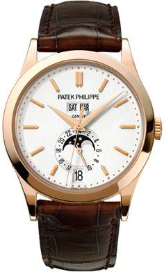 5396R-011 Patek Philippe Complications Mens 18K Rose Gold Watch | WatchesOnNet.com