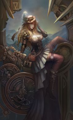 "steampunksteampunk: "" Melody Wang """
