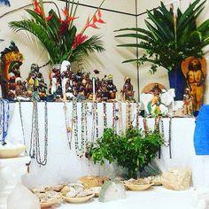 """Cerimônia de Batismo Confirmação e Amaci / 2015. """"Umbanda tem fundamento e preciso preparar (...)"""" #umbandaforçaeluz  #batismo #confirmação  #amaci #oferendas #meuterreiro #minhafamília #fé #altar #caboclos #boiadeiros #baianos by umbandaforcaeluz"""