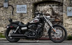 Explore uncharted territories with a gritty, raw and no-nonsense companion.  | Harley-Davidson 2011 Dyna® Wide Glide®