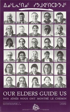 Inuit elders Conference, Kangiqsualujjuaq 1986