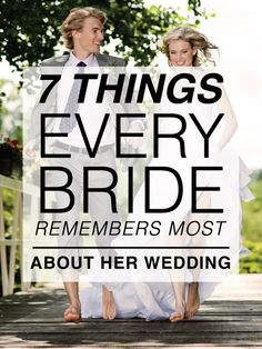 What you'll remember most about your wedding...I LOVE these!