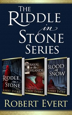 In the world of fantasy novels, Robert Evert is a supernova talent, and the RIDDLE IN STONE series brings twisting suspense and an unforgettable protagonist into the pantheon of great books.  http://diversionbooks.com/ebooks/riddle-stone-trilogy-omnibus-edition