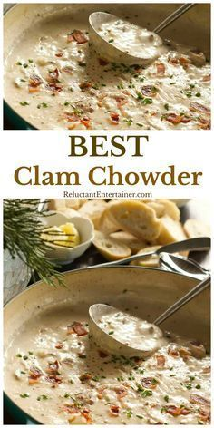 The Very Best Clam Chowder Recipe