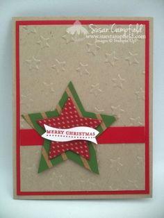 Lucky Stars Christmas Card
