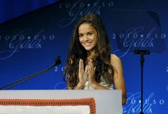 The youngest USO entertainer to go out on tour, Madison Pettis is no stranger to supporting the military. #military #USO