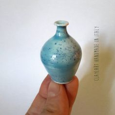 Ceramica artistica in miniatura by claylart available on  Etsy https://www.etsy.com/it/listing/481168881/vaso-in-ceramica-miniatura-modellata-al