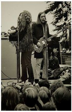 Janis and Peter Albin.