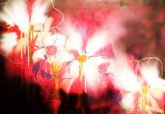 Collection: Les fleurs du mal, aérosols sur papier, 70x50cm, encadré. Disponible. Prix sur demande. Interior Paint, Creations, Deco, Painting, Collection, Design, Budget, The Flowers Of Evil, Paper