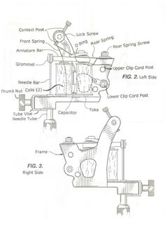1000 images about machine building on pinterest tattoo tattoo machine diagram and names