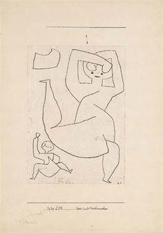 VOR - UND NACHMACHEN By Paul Klee