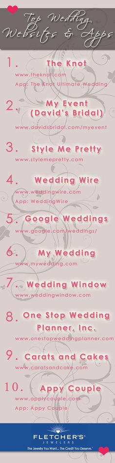 Need some wedding planning help download one of these aps or websites #weddinghelp #bestweddinghelp #weddingwebistes