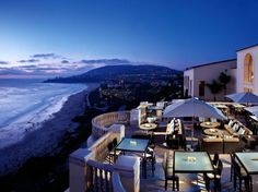 """Perched on a """"gorgeous seaside bluff"""" between Los Angeles and San Diego, this Mediterranean-inspired four-story hotel has fountains and French doors that open onto private terraces. """"The views from this property are beautiful, and the grounds are perfectly maintained."""""""