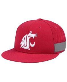6dca26942fd2e Nike Washington State Cougars True Woven Stripe Snapback Cap - Red  Adjustable King Hat