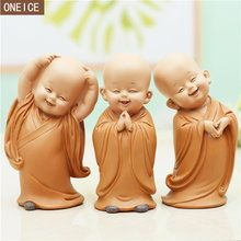 Little Monk Sculpture Resin Hand-Carved Buddha Statue Home Car Decoration Accessories Gift Small Buddha Statue Creatives Shaolin Brand Name: LUKENIRegional Feature: ChinaTheme: peopleMaterial: Resin Buddha Statue Home, Small Buddha Statue, Baby Buddha, Little Buddha, Buddha Kunst, Buddha Art, Statues, Deco Zen, Buddha Decor