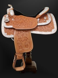The Rio Crystal Show Saddle with real swaroviski crystals from Dale Chavez... I. want. this. now. It's SO gorgeous!