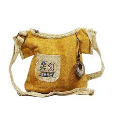 vintage style women crossbody bags, clothes shape cute handbags, unique t shirt design color printing fabric bag for lady