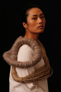 Hao-Ni Tsai textile jewelry