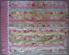 Find this Pin and more on honey bun, jelly roll quilts. Piece N ...