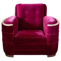 MODERN: French Art Deco club chair