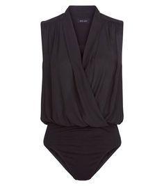 82a8343686 8 Best Bodysuits images | Black bodysuit, Black jumpsuit, Black one ...