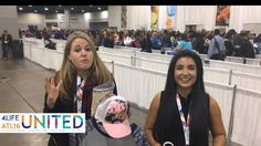 4Life UNITED Live from the convention store-Streamed live on Oct 12, 2016  Live from the 4Life UNITED Convention product store. Sarah Gambles and Danette Acosta showcase some of the logo wear products available to 4Life UNITED Convention attendees in Atlanta, Georgia. 4Life, Together Building People.