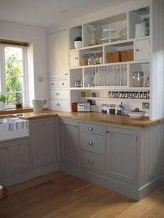 Muebles de cocina para cocina pequeña  #cocina #muebles #peque