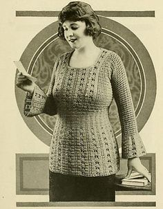 V1 - Vintage Sweater - Free Pattern