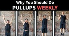Pullups are one of the most straightforward exercises; it helps strengthen your back, shoulders, chest and arms, improving posture and building grip strength. http://fitness.mercola.com/sites/fitness/archive/2016/12/30/why-pull-ups-should-be-part-of-weekly-exercise.aspx