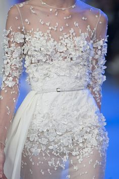 runway-report:  Details at Elie Saab Couture Spring 2014