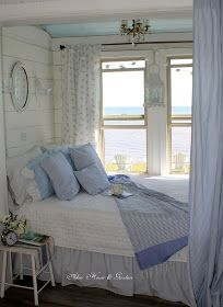 Seaside Bedroom Decoration Ideas you Should Improve in your Own Home – GoodNewsArchitecture - Bedroom decorating ideas Seaside Bedroom, Coastal Bedrooms, Shabby Chic Bedrooms, Shabby Chic Homes, Home Bedroom, Bedroom Decor, Cottage Bedrooms, Bedroom Ideas, Teen Bedroom