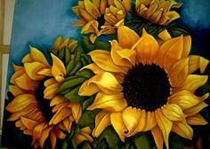 Sunflower by paperkangaroo.deviantart.com on @DeviantArt
