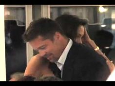 Paparazzi video of Angelina Brad in a restaurant (Cannes) - YouTube