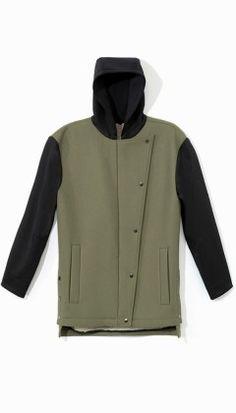 Bonded Modern Anorak - Jackets & Outerwear