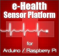The e-Health Sensor Shield allows Arduino and Raspberry Pi users to perform biometric and medical applications where body monitoring is needed by using 9 different sensors: pulse, oxygen in blood (SPO2), airflow (breathing), body temperature, electrocardiogram (ECG), glucometer, galvanic skin response (GSR - sweating), blood pressure (sphygmomanometer) and patient position (accelerometer).