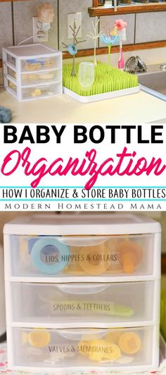 Baby bottle organization: How I organize and store baby bottles - baby care - The Effective Pictures We Offer You About Baby Supplies for grandmas house A qu Babies R Us, Babies Stuff, Baby Bottle Organization, Baby Nursery Organization, Organizing Baby Bottles, Storing Baby Bottles, Organization Ideas, Baby Life Hacks, Baby Storage