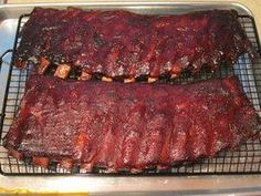 Slow Smoked Ribs Bbq Grill - #grill #smoked - #SmokedBeefBrisket 321 Smoked Ribs, Smoked Beef Brisket, Smoked Pork, Ribs On Grill, Bbq Ribs, Pork Ribs, Rib Recipes, Smoker Recipes, Game Recipes