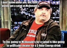 Artie Lange's input on dieting is spot on - Imgur