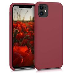 Caseology Skyfall Cover iPhone 11 Trasparente paraurti Rosso