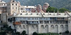 Athos of Byzantium, historical Macedonia, northern Greece Heritage Center, Spiritual Enlightenment, World Heritage Sites, Natural Beauty, Macedonia Greece, Visit Greece, Explore, Mansions, Monuments
