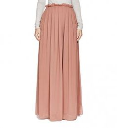 DUSTY ROSE PLEATED SKIRT Modest Outfits, Modest Fashion, Fashion Outfits, Flare, Hijab Pins, Islamic Fashion, Dusty Rose, Pleated Skirt, Style Me