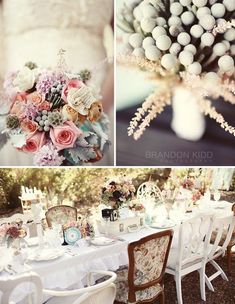 Vintage French wedding ideas