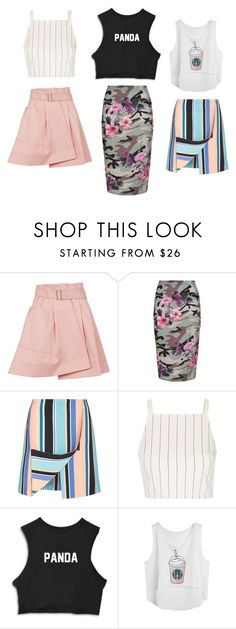 """C.L"" by deerodri on Polyvore featuring Balenciaga, New Look, Opening Ceremony, Topshop and joyfulday"