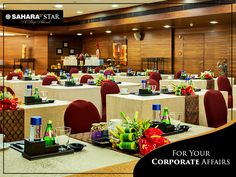 Your meetings and conferences will always be a successful affair with our cutting edge amenities and well-equipped event spaces.