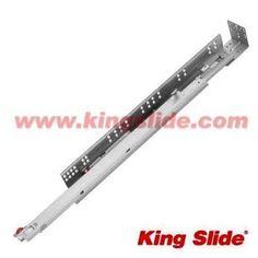 "King Slide - 12"" to 21"" 100Lbs Silent Soft-Closing Undermount Drawer Slide"