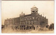 RPPC - Cass City, Michigan - Opera House Building - 1912