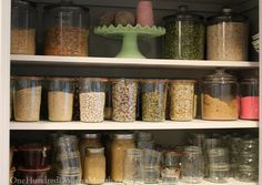Using canning jars for food storage