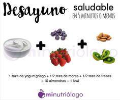 Desayuno omitir yogurth