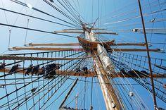 Aboard the Tall Ship USCG Eagle by Telstar Logistics, via Flickr